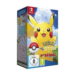 Jogo Pokémon: Let's Go, Pikachu! (Pokéball Plus Bundle) - Switch