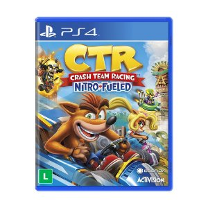Jogo Crash Team Racing Nitro-Fueled - PS4