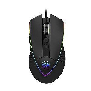 Mouse Gamer Redragon Emperor RGB 12400dpi com fio