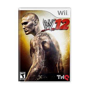 Jogo WWE '12 - Wii