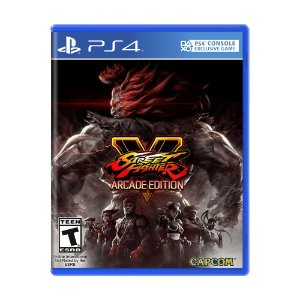 Jogo Street Fighter V: Arcade Edition - PS4