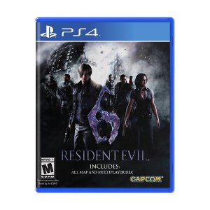 Jogo Resident Evil 6 - PS4