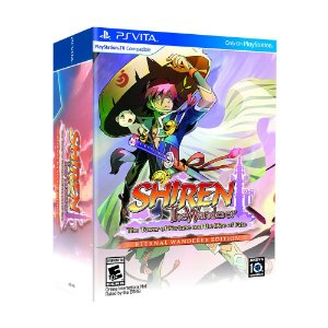 Jogo Shiren The Wanderer: The Tower of Fortune and the Dice of Fate (Eternal Wanderer Edition) - PS Vita