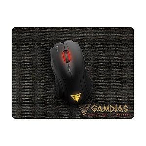 Kit Gamer Gamdias Mouse Demeter E1 3200dpi com fio e Mousepad NYX E1