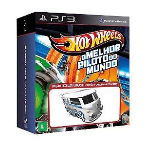 Jogo Hot Wheels: O Melhor Piloto do Mundo + Volkswagen Kool Kombi - PS3