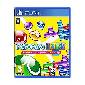 Jogo Puyo Puyo Tetris - PS4