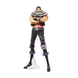 Action Figure Charlotte Katakuri (King of Artist) One Piece - Banpresto