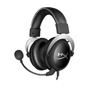 Headset Gamer HyperX Cloud Silver com fio - Multiplataforma