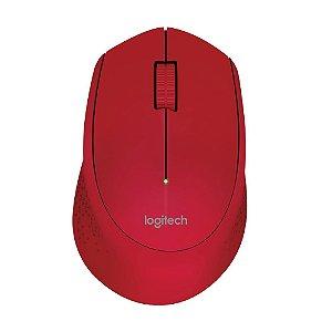 Mouse Logitech M280 Vermelho sem fio
