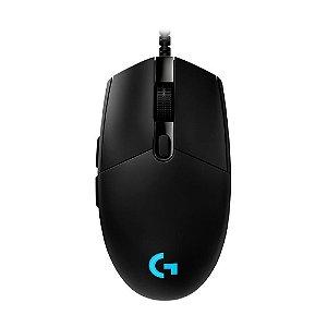 Mouse Gamer Logitech Pro 16000dpi com fio