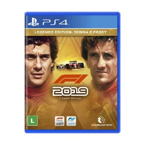 Jogo F1 2019 (Legends Edition) - PS4