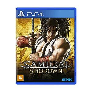 Jogo Samurai Shodown - PS4