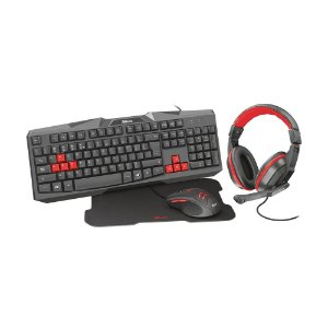 Kit Gamer Trust Ziva Gaming Bundle