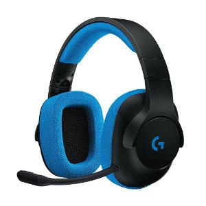 Headset Gamer Logitech G233 Prodigy com fio - Multiplataforma