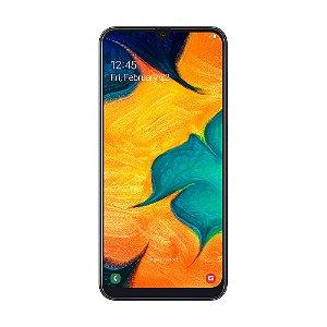 "Smartphone Samsung Galaxy A30 64GB 16MP Tela 6,4"" Preto"