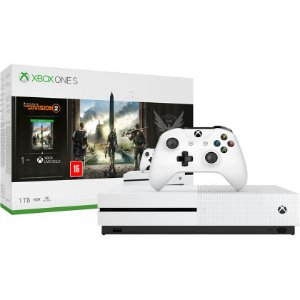 Console Xbox One S 1TB (Pacote Tom Clancy's The Division 2) - Microsoft
