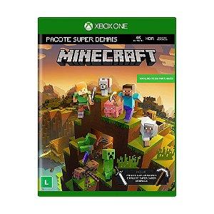 Jogo Minecraft (Pacote Super Demais) - Xbox One