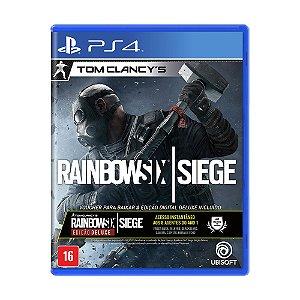 Jogo Tom Clancy's: Rainbow Six Siege (Edição Deluxe) - PS4
