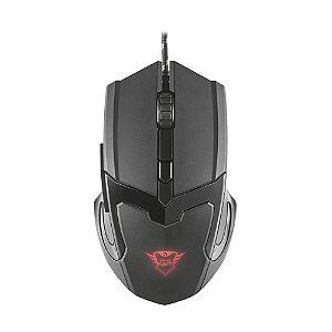 Mouse Gamer Trust GXT 101 4800dpi com fio