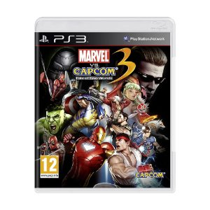 Jogo Marvel Vs. Capcom 3: Fate of Two Worlds - PS3