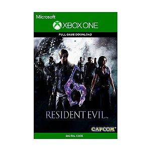 Jogo Resident Evil 6 (Mídia Digital) - Xbox One