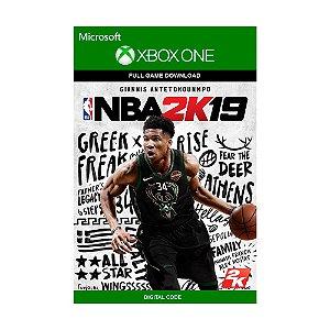 Jogo NBA 2K19 (Mídia Digital) - Xbox One