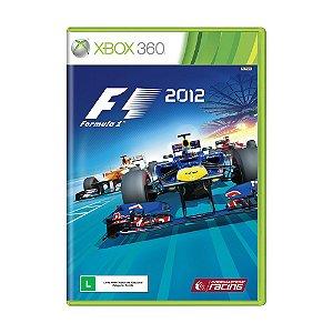 Jogo F1 2012 - Xbox 360