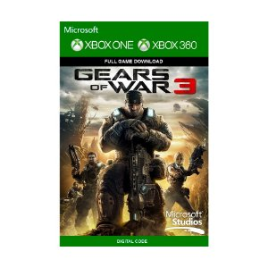 Jogo Gears of War 3 (Mídia Digital) - Xbox 360 e Xbox One