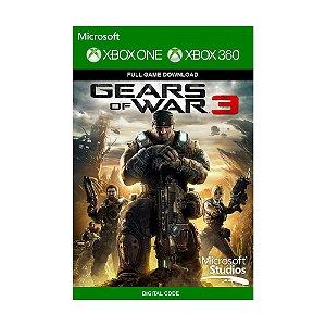 Jogo Gears of War 3 (Mídia Digital) - Xbox 360 e Xbox One