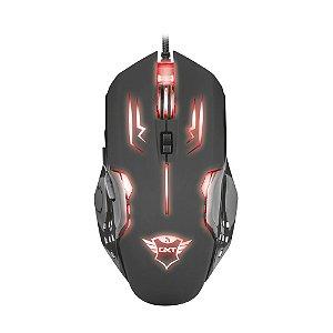 Mouse Gamer Trust GXT Rava 2000dpi com fio