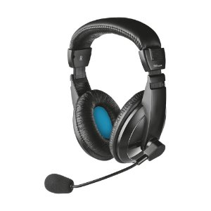 Headset Trust Quasar Stereo com fio - PC