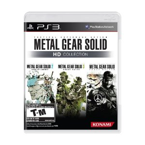 Jogo Metal Gear Solid HD Collection - PS3