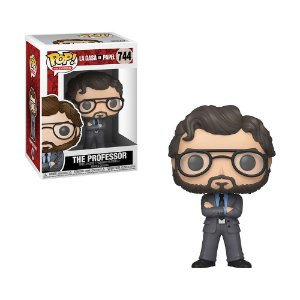 Boneco The Professor 744 La Casa de Papel - Funko Pop