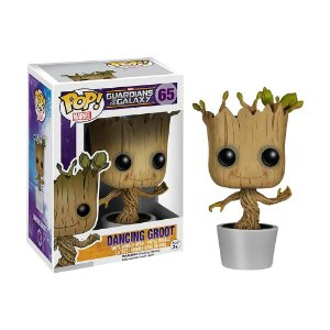 Boneco Dancing Groot 65 Guardians of the Galaxy - Funko Pop