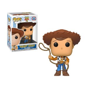 Boneco Sheriff Woody 522 Toy Story 4 - Funko Pop