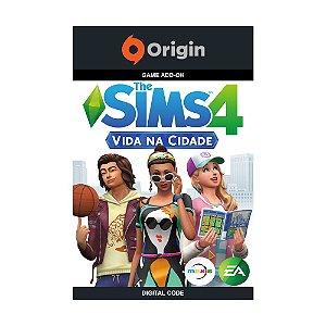 Jogo The Sims 4: Vida na Cidade (Pacote de Expansão) (Mídia Digital) - PC