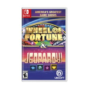 Jogo America's Greatest Game Shows: Wheel of Fortune & Jeopardy! - Switch