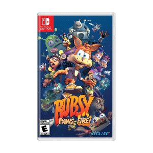 Jogo Bubsy: Paws on Fire! - Switch