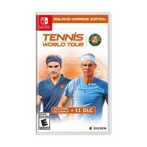 Jogo Tennis World Tour (Roland-Garros Edition) - Switch