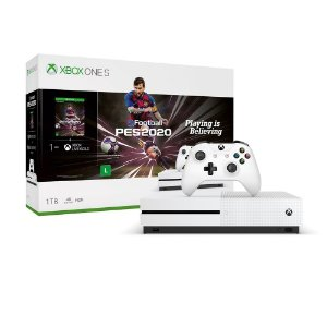 Console Xbox One S 1TB (Pacote eFootball PES 2020) - Microsoft