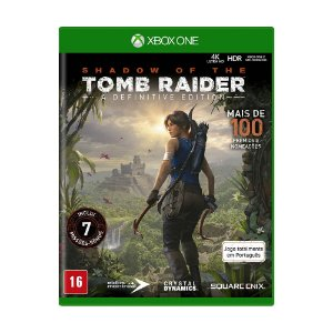Jogo Shadow of Tomb Raider (A Definitive Edition) - Xbox One