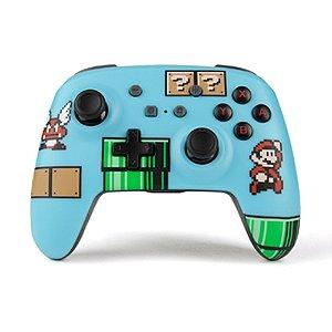 Controle PowerA sem fio (Super Mario Bros 3 Edition) - Switch