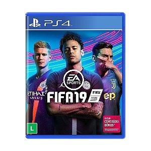 Jogo FIFA 19 - PS4
