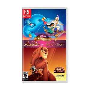 Jogo Disney Classic Games: Aladdin and The Lion King - Switch