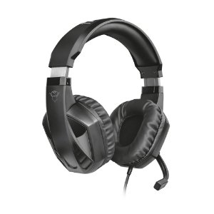 Headset Gamer Trust GXT Celaz Preto com fio - Multiplataforma