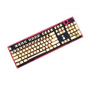 Kit Completo de Teclas Redragon A101G Dourado
