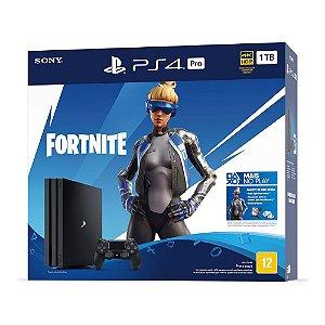 Console PlayStation 4 Pro 1TB (Bundle Fortnite Neo Versa) - Sony