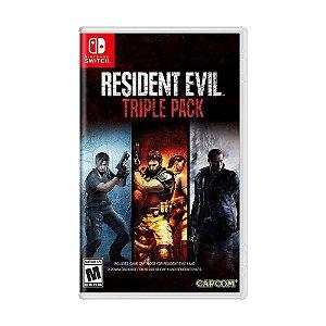 Jogo Resident Evil Triple Pack - Switch