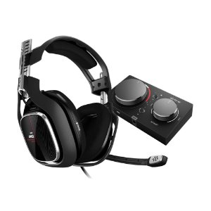 Headset Astro A40 TR + Mix Amp Pro Preto com fio - Xbox One e PC