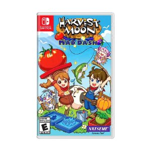 Jogo Harvest Moon: Mad Dash - Switch
